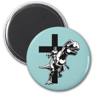 Jurassic Jesus Magnet