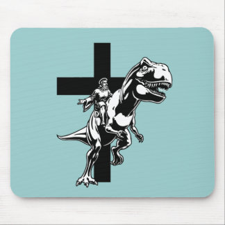 Jurassic Jesus Mouse Pad