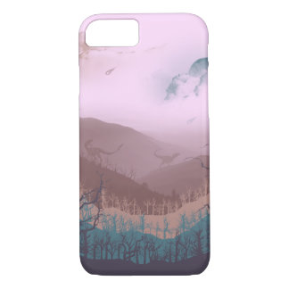 Jurassic Landscape iPhone 7 Case