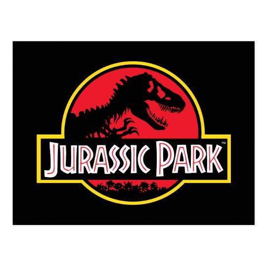 Jurassic Park Logo Postcard | Zazzle.com