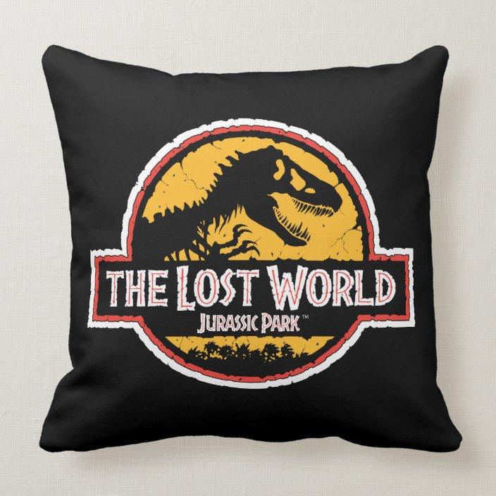 Jurassic Park Movie 25TH ANNIVERSARY Printed Throw Pillow Many Sizes