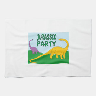 Jurassic Party Towel