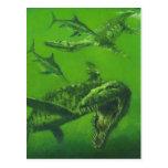 Jurassic Pliosaur Postcard