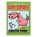 Jurassic Pork! Card