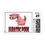 Jurassic Pork Postage Stamps