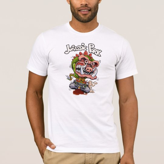 Jurassic Pork White T-Shirt