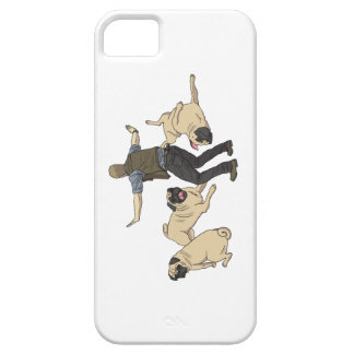 Jurassic Pugs iPhone 5/5s/SE case