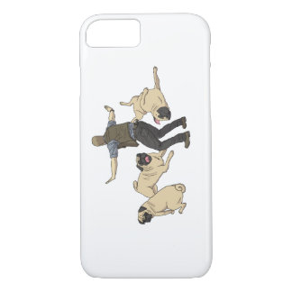 Jurassic Pugs iPhone 8/7 Case
