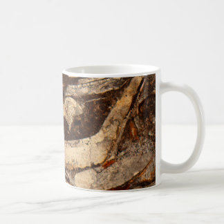Jurassic shells under the microscope coffee mug