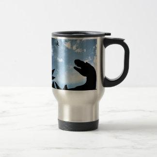 Jurassic Sky 15 Oz Stainless Steel Travel Mug
