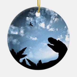 Jurassic Sky Ceramic Ornament