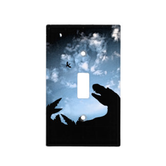 Jurassic Sky Light Switch Cover