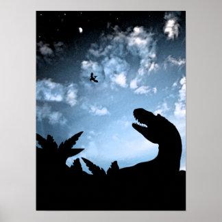 Jurassic Sky Poster