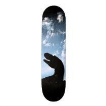 Jurassic Sky Skateboard Deck