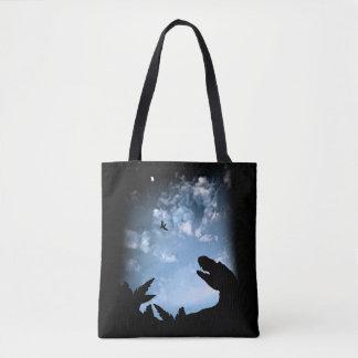Jurassic Sky Tote Bag