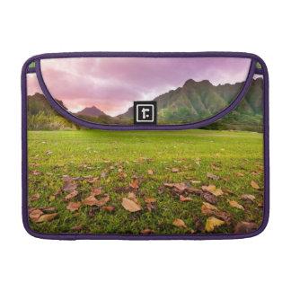 Jurassic Sunset Sleeves For MacBook Pro