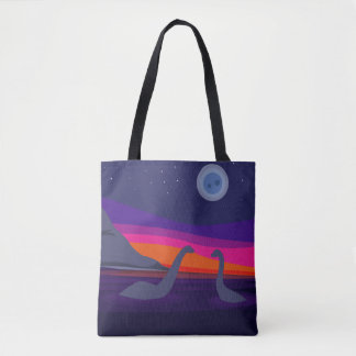 Jurassic Sunset Tote Bag