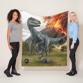 Jurassic World | Blue Fleece Blanket