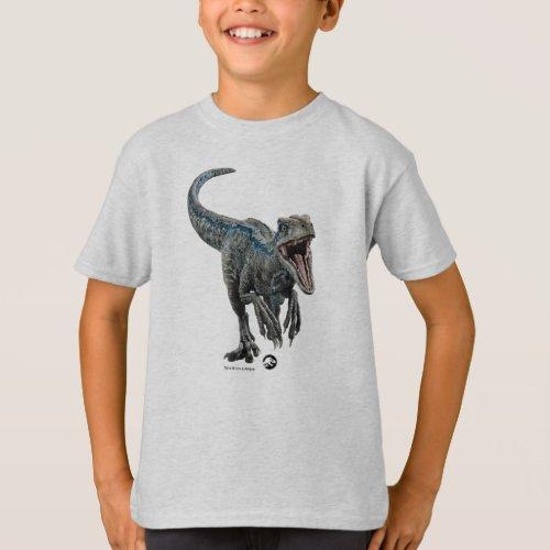 Jurassic World  Blue _ Natures Got Teeth T_Shirt
