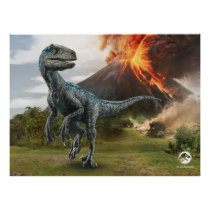 Jurassic World | Blue Poster