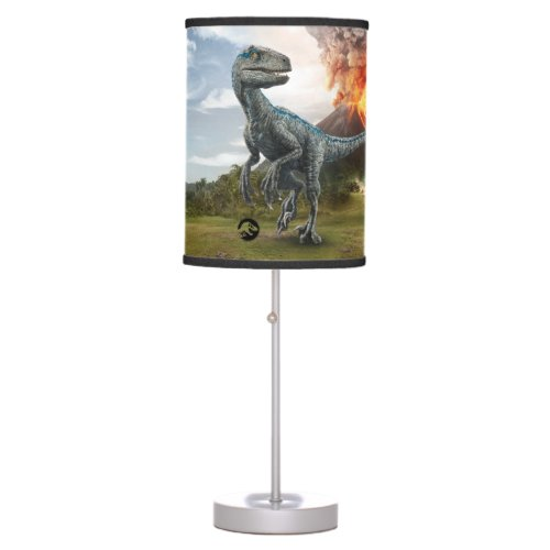 Jurassic World   Blue Table Lamp