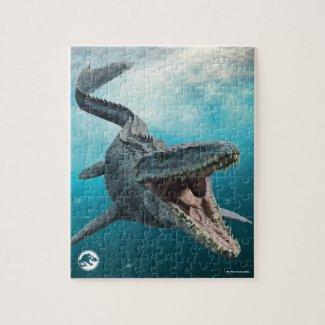 Jurassic World | Mosasaurus - Kids Jigsaw Puzzle