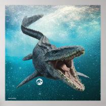 Jurassic World | Mosasaurus Poster