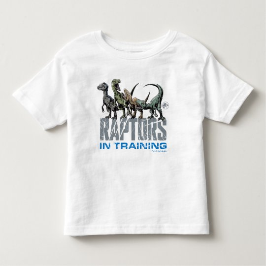 69e41400 Jurassic World   Raptors in Training Toddler T-shirt   Zazzle.com