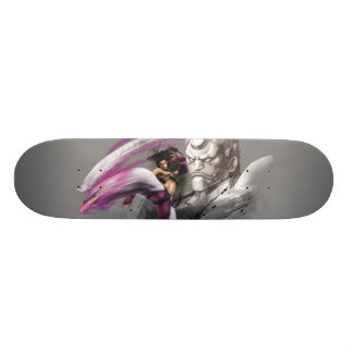 Juri Vs. Hakan Skateboard Deck