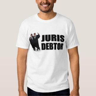 """Juris Debtor"" T-Shirts & Apparel"
