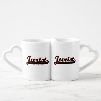Jurist Classic Job Design Coffee Mug Set