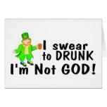 Juro no a dios borracho Im (el Lep) Tarjetas