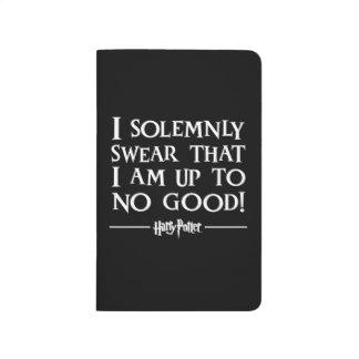 Juro solemnemente cuadernos grapados