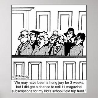Juror Sells 11 Magazine Subscriptions Posters