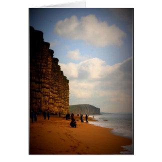 """Jurrasic Coast"" Card"