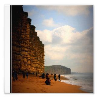 """ Jurrasic Coast Photo Print"