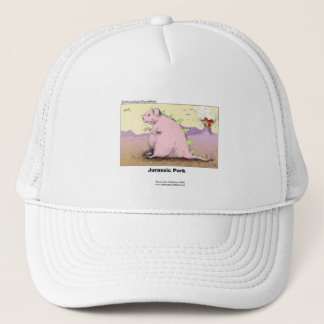 Jurrasic Pork Hilarious Cartoon Quality Cap