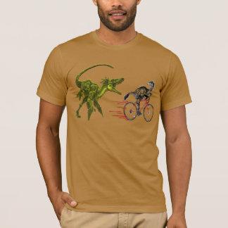 Jurrassic Cycologist  funny t-shirt design