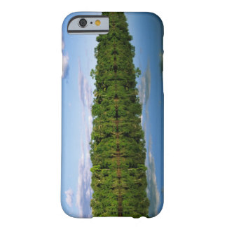 Juruena, Brazil. Forested river bank reflected Barely There iPhone 6 Case