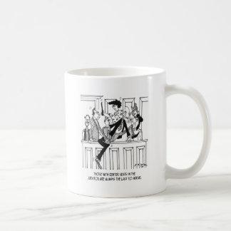 Jury Cartoon 4657 Coffee Mug