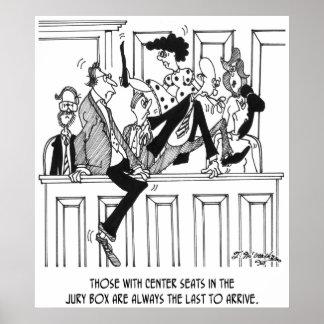 Jury Cartoon 4657 Poster