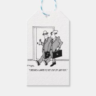 Jury Cartoon 5492 Gift Tags