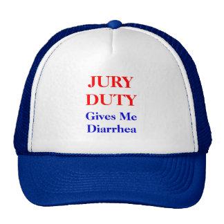 Jury Duty Diarrhea Trucker Hat