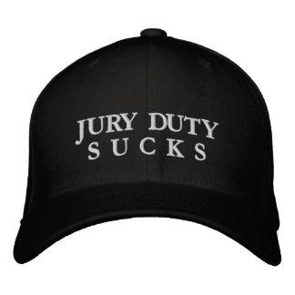 JURY DUTYS U C K S EMBROIDERED HAT