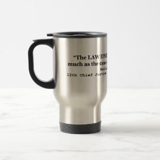 Jury Nullification by Justice Harlan F. Stone 1941 Travel Mug