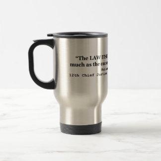 Jury Nullification by Justice Harlan F. Stone 1941 Travel Mug