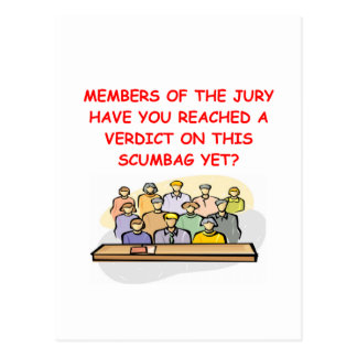JURY.png Postcard