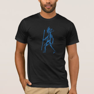 Jus Walkin T-Shirt (Black Tee)