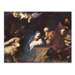 Jusepe de Ribera- Adoration de los pastores Postales