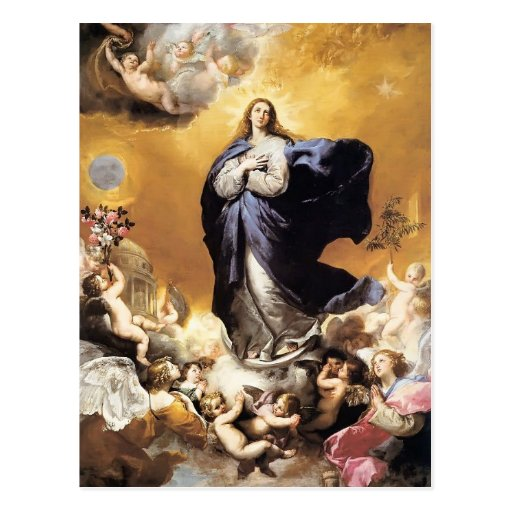 Jusepe de Ribera- Immaculate Conception Post Cards